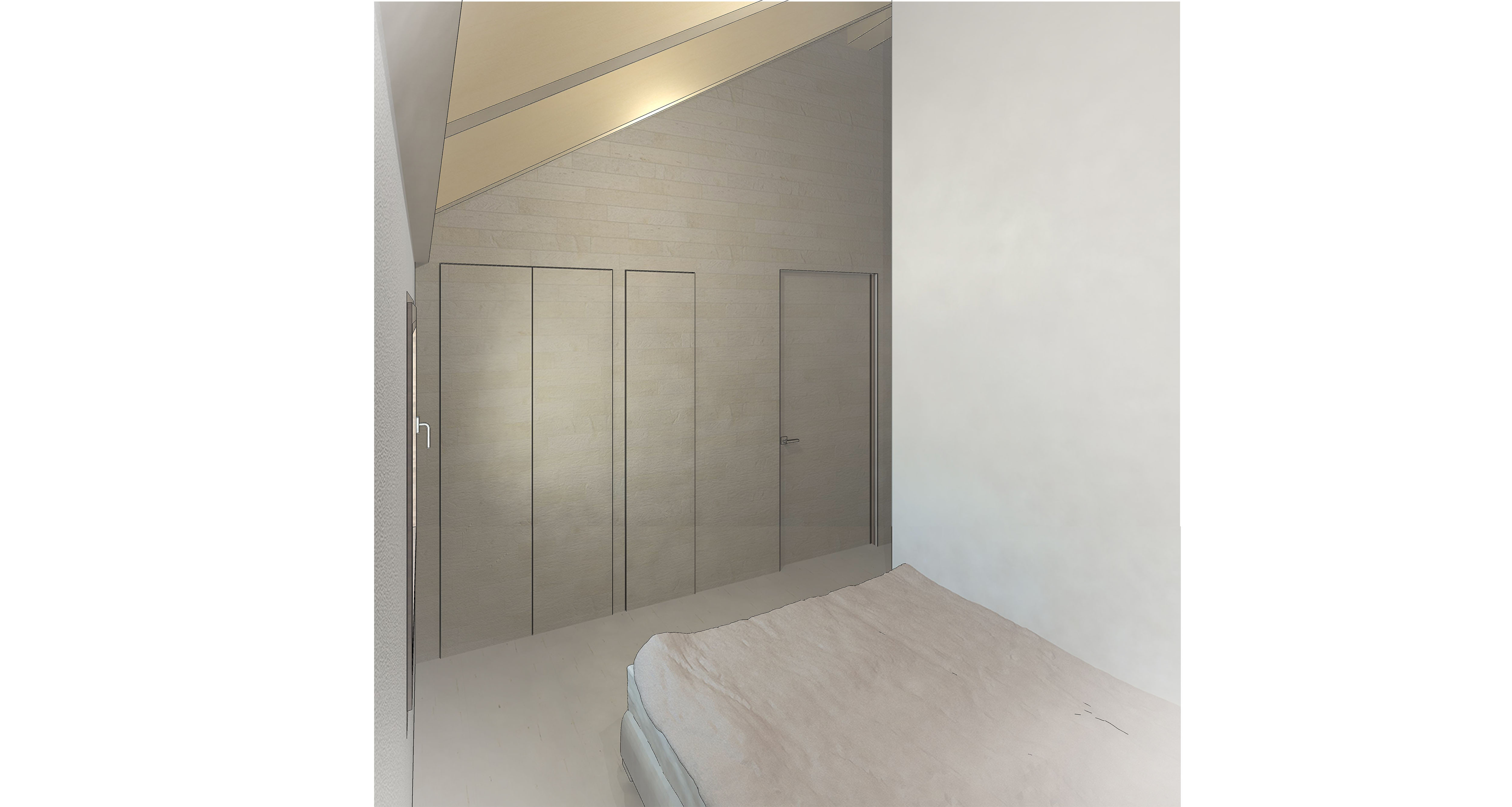 vista interior - dormitorio